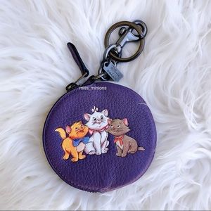 Coach x Disney Aristocats Coin Purse